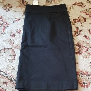 Brand New with Tags Black Loft Skirt